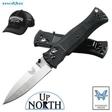 Benchmade 530 Pardue Grivory Handle AXIS Knife 154cm Spear-Point Blade FREE HAT