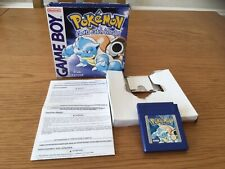 NINTENDO GAMEBOY POKEMON BLUE - BOXED,TESTED & WORKING