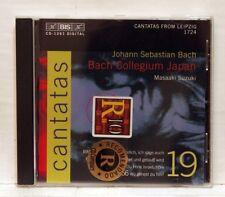 MASAAKI SUZUKI - BACH cantatas vol.14 BWV 86, 37, 104 & 166 - BIS CD NM