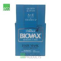 L'Biotica Biovax Natural Hair Mask Keratin & Silk 250ml Intensive Regeneration