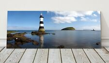 Penmon Point lighthouse canvas print Anglesey menai straits framed picture