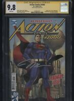 Action Comics #1000 CGC 9.8 SS Jim Lee variant cover JIM LEE 2018 Superman