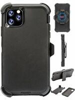 "For Apple iPhone 11 (6.1"") Black Case Cover (Belt Clip Fits Otterbox Defender)"
