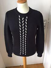 Original Celine Pullover schwarz weiss creme L 38 – 40, wie neu
