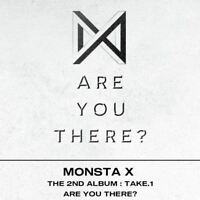 Monsta X Take.1 Are You There? 2nd Album Photobook+Photocard+Etc / Tracking Num