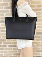 Kate Spade Joeley Glitter Penny Large Top Zip Tote Handbag WKRU6278 Black