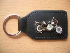 Schlüsselanhänger Kawasaki Estrella schwarz / weiss Art. 0332 Motorrad Moto