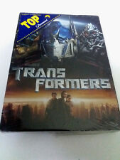 "DVD ""TRANSFORMERS"" PRECINTADO SEALED MICHAEL BAY SHIA LABEOUF MEGAN FOX FUNDA CA"