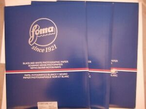 3x10 Sheets Foma Fomabrom Glossy Warm Tone 12x16 inch Black & White Paper