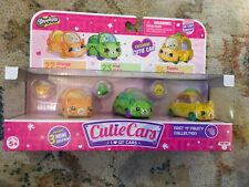 Shopkins Cutie Cars 3 Pack Series 1 Fast 'N' Fruity Collection 22,23,24 New