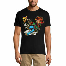 ULTRABASIC Homme T-shirt Gunslinger Wild West - Ouest sauvage - Combat d'armes