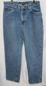 Ralph Lauren Womens Jeans Blue Denim High Waist Mom Jeans 80's Vintage Size 12