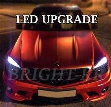 4x Mercedes Classe C W204 Xenon Blanc Pur DEL Sans Erreur Side Light Bulbs