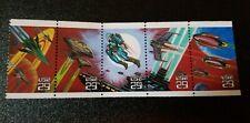2741-45 1993 29c Space Fantasy Pane of 5