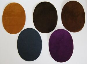 Iron on / Sew on Faux Suede Elbow Patch Choice of Colours - Knees, Repair
