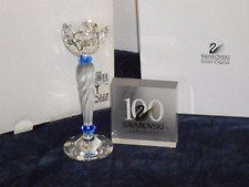 Swarovski Crystal Blue Flower Candle Holder New in Box 207012
