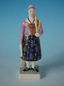 Staffordshire Pearlware Figure of Madame Vestris