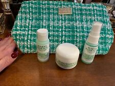 Mario Badescu Skincare Mini Sample Size Trio with Cosmetic Bag New