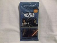 2015 Topps Journey To Star Wars: The force Awakens Jumbo Card Pack Unopened