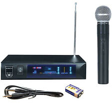 Sound Barrier SB73VHF Wireless Single Handheld Microphone Mic System