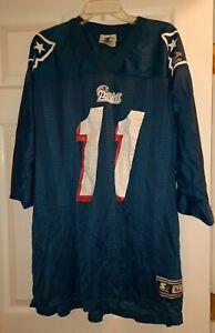 NEW Starter Drew Bledsoe New England Patriots Blue Jersey Size 54/XXL Vtg 1995