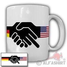 Tasse Allemand américaine amitié humour Donald Trump majeur #20990