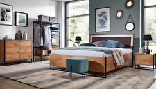 Wood Designer Bed Bedroom Beds Textile Leather Hotel Luxury Pads Design