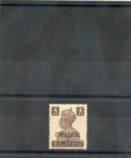 INDIA (GWALIOR) Sc 108(SG 126)**VF NH 1942 4a BROWN $20