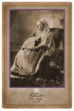 QUEEN VICTORIA 1897 Diamond Jubilee Commemorative Photograph Cabinet Card v1