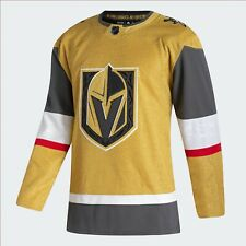 Men's Las Vegas Golden Knights Adidas Alternate Gold Authentic NHL Hockey Jersey
