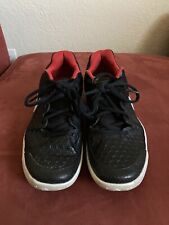 New listing Preowned Nike Men's Air Zoom Resistance Tennis Shoes Black 918194-001 Size 9