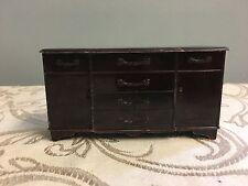 """Vintage Plasco Dresser Sideboard Credenza 4.5"""" x 2.5"""""""