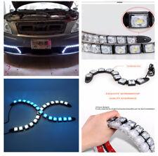 2pcs Durable 14 LED Ice Blue Car Set Flexible LED Daytime Running Light Signal