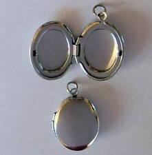Modeschmuck-Halsketten & -Anhänger im Medaillon-Stil aus Edelstahl