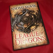 League of Dragons - Naomi Novik - Signed Doodled First Edition Hardback HB *NEW*