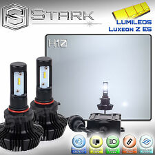 New Z ES LED 8000LM Kit 6000K 6K White Fog Light Bulbs PAIR - H10 9140 9145 (A)
