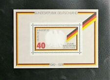 TIMBRES D'ALLEMAGNE : 1974 RFA BLOC FEUILLET N° 9** SANS CHARNIERE - 25 ANS RFA
