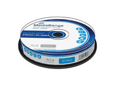 10 BD-R DL IMPRIMIBLES MEDIARANGE - DOBLE CAPA 50 GB - 6x - BLURAY PRINTABLES