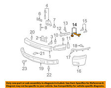 GM OEM Front Bumper-Outer Brace Left 25862429