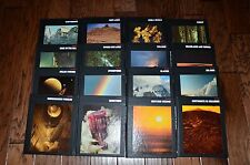 TIME LIFE PLANET EARTH NATURE SERIES BOOKS 16 VOLUME TOPICAL SET