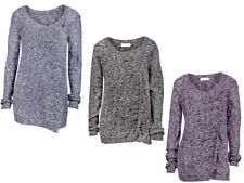 Cotton Scoop Neck All Seasons Jumpers & Cardigans for Women