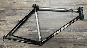 "Raleigh Sheer 26"" Carbon Fiber / Aluminum Vintage Mountain Bike Frame, 19"""