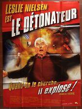 Affiche LE DETONATEUR Wrongfully Accused RICHARD CRENNA Pat Proft 120x160cm *d