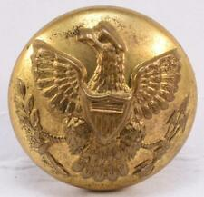 "Spanish American War Era Brass 7/8"" Eagle Uniform Coat Button Horstmann Bros"