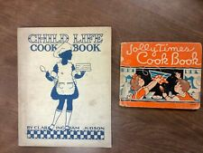 Child Life and Jolly Times Cook Book's - 2 Book Lot