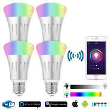 WiFi Smart Bulb LED Light Globe For Alexa Google Home RGB Colour E27 B22 E14 7W