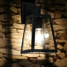 Outdoor Vintage Wall Sconce Lamp - Black