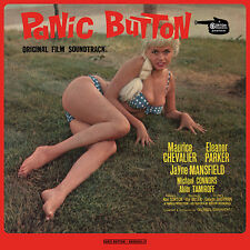 JAYNE MANSFIELD - PANIC BUTTON - ORIGINAL FILM SOUNDTRACK LP - GERMANY IMPORT