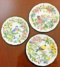 The Songbird Collection 3 Plates 6''+ By Elizabeth Golz Rush