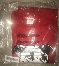 Supreme Pitbull Tee Shirt Red Medium M